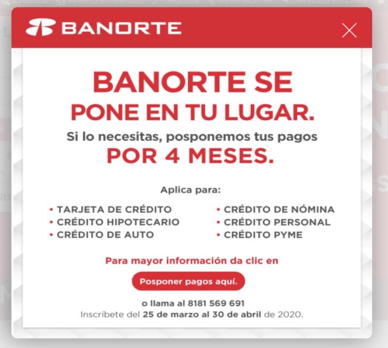 Banorte se pone en tu lugar y te apoya con pagos diferidos en tus créditos - banorte-apoya-a-sus-clientes-con-pagos-diferidos-3