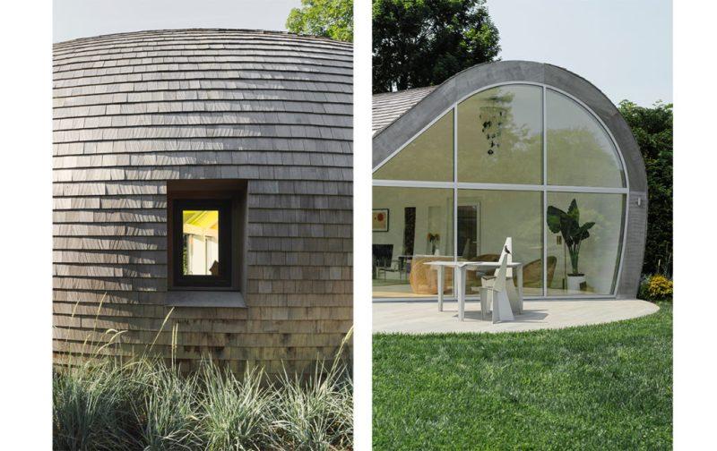 Casa Cocoon por NEA Studio - hotdesign-neastudio_casacocoon-exterior-domo-techo-ventanas