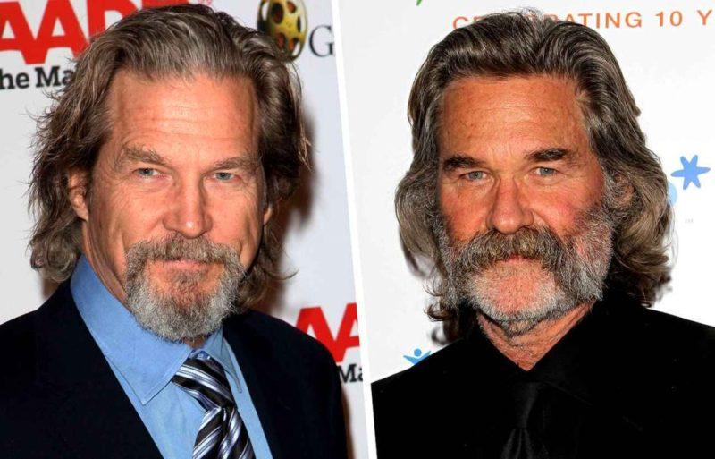 Celebridades que parecen gemelas - jeff-bridges-y-kurt-russel-celebridades-que-podrian-parecer-gemelos-coronavirus-cuarentena-covid-coronavirus-2