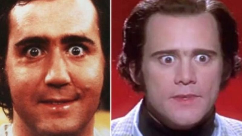 Celebridades que se parecen a los personajes que interpretaron - jim-carrey-como-andy-kaufman-celebridades-que-se-parecen-a-los-personajes-que-interpretaron-instagram-tiktok-coronavirus-economia-2020-hollywood-coffee-susana-distancia