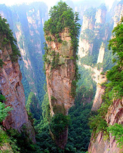 24 fotos que te transportarán a lugares inimaginables - monte-tianzi-china-fotos-de-lugares-inimaginables-que-te-transportaran-virtualmente-coronavirus-internet-fotos-18