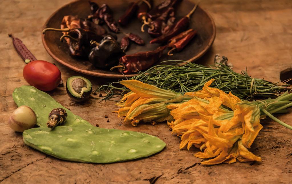 Gastronomía oaxaqueña - PORTADA-gourmet_gastronomia_oaxaqueña_cocina_flordecalabaza_nopal_chiles