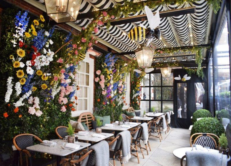 16 de los restaurantes más instagrameables del mundo - dalloway-terrace-london