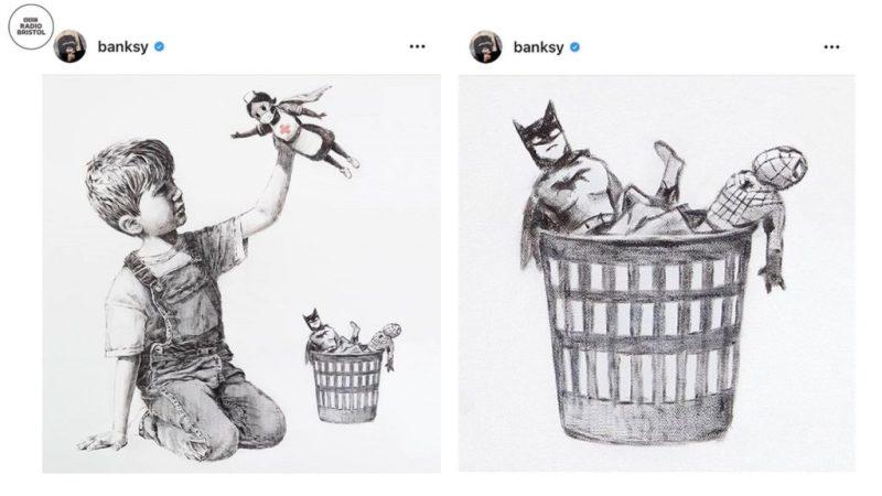 Banksy rinde homenaje a todos los médicos con una obra de arte - image3