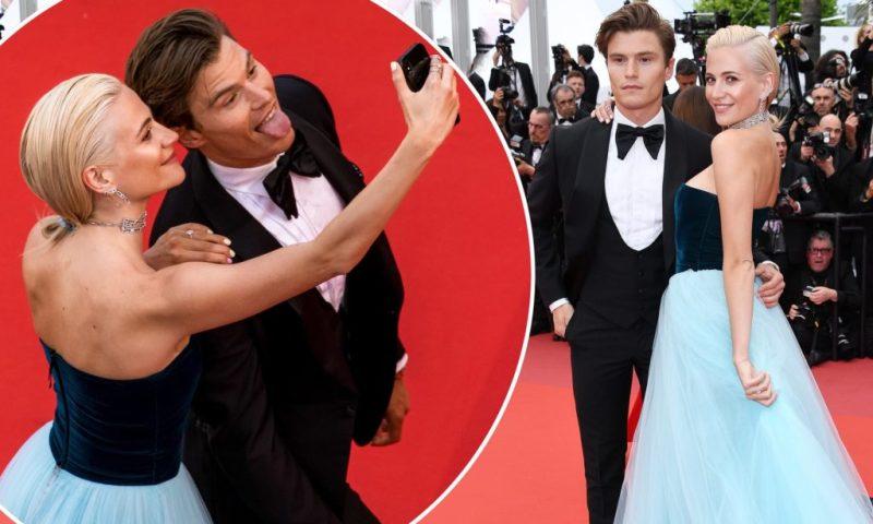 Cannes Rebels: el estricto código de vestimenta del festival y quién lo ha roto - pixie-lott-cannes-rebels-el-estricto-codigo-de-vestimenta-del-festival-de-cannes-y-quien-lo-ha-roto-zoom-cannes-film-festival-online-tiktok-instagram-foodie