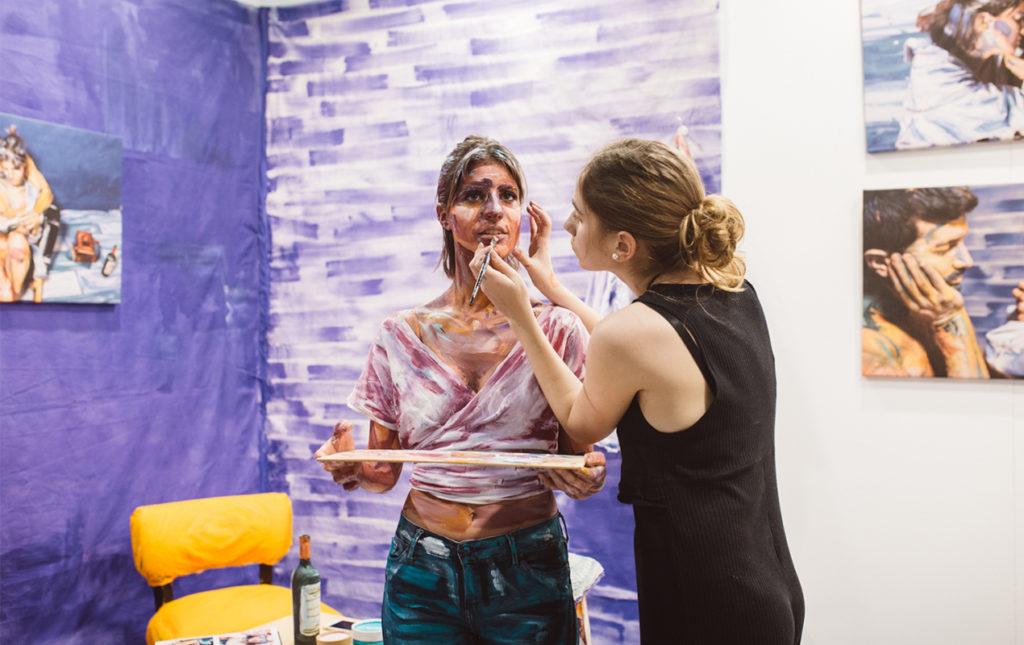 BADA: artistas al encuentro de su coleccionista - PORTADA-hotart_bada_arte_pintura_bodypaint_maquillaje_obraarte_hotbook