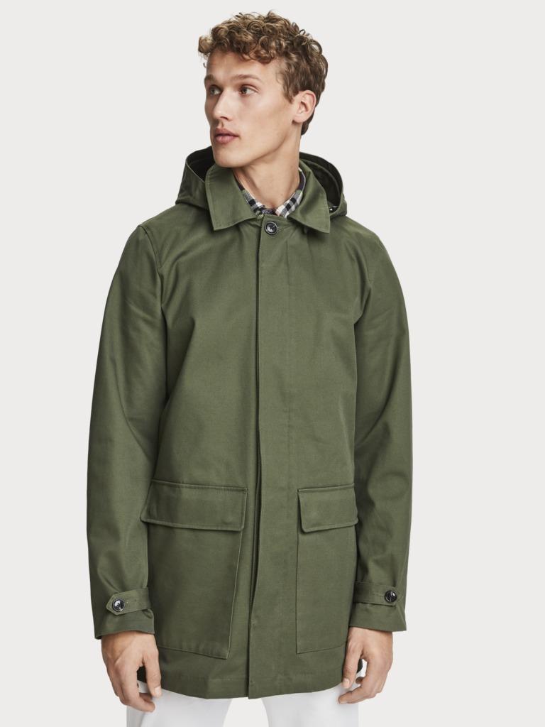 Consiente a papá con un regalo a su altura: el outfit perfecto - scoth-soda-parka-de-sarga-de-algodon-color-verde-militar