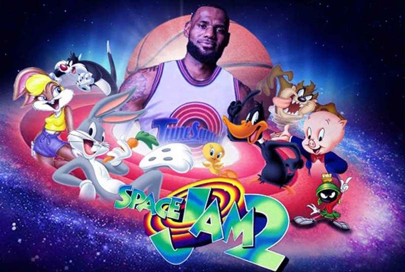 Se revela la imagen oficial de Space Jam 2 con LeBron James - space-jam-a-new-legacy-lebron-james-king-james