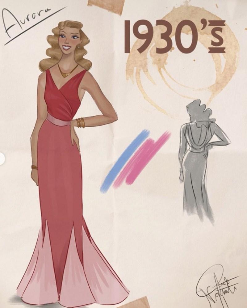 Amit Naftali, un joven ilustrador, dibuja a las princesas de Disney en distintas épocas - amit-naftali-un-joven-ilustrador-dibuja-a-las-princesas-de-disney-en-distintas-epocas-princess-google-online-verano-viajes-google-zoom-instagram-tiktok-foodie-recetas-como-hacer-a-donde-ir-summe-1