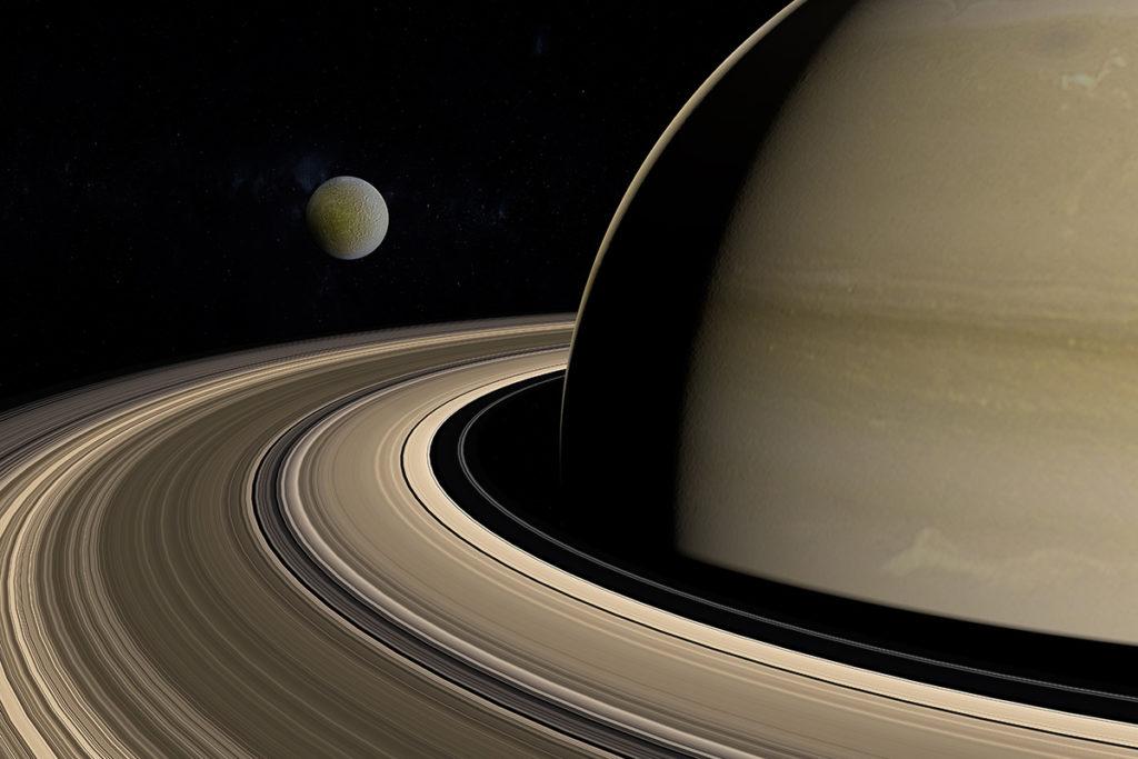 Así se vieron los anillos de Saturno desde México - Así se vieron los anillos de Saturno desde México  portada