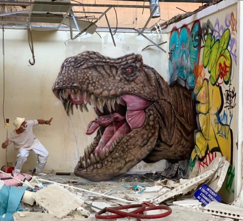 @scaf_oner y sus impactantes murales 3D - george-rousse-y-sus-impactantes-murales-3d-tercera-dimension-artista-google-viajes-verano-coronavirus-google-online-nueva-normalidad-restaurantes-9