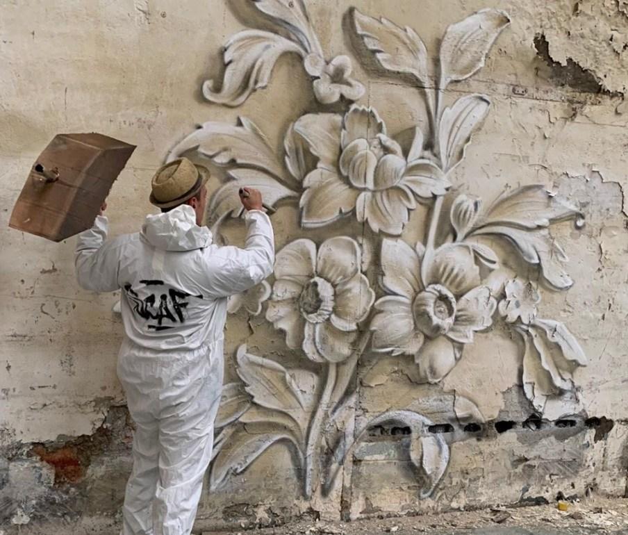 @scaf_oner y sus impactantes murales 3D - Portada George Rousse y sus impactantes murales 3D tercera dimensión artista google viajes verano coronavirus google online nueva normalidad restaurantes