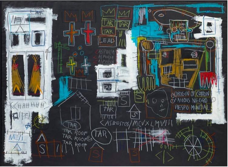 Obra de Basquiat alcanza 10.8 millones en una aplicación de smartphone - obra-de-basquiat-alcanza-olvera-coronavirus-europa-league-sedena-online-2