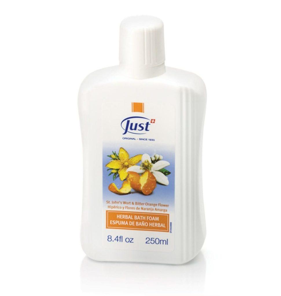 Beauty routine essentials: cuida y consiente tu piel todos los días - espuma-de-bancc83o-con-hiperico-y-flores-de-naranja-amarga-mom-just-beauty-routine-essentials