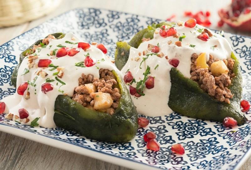 ¡Llegaron las fiestas patrias! Recetas para hacer los mejores chiles en nogada - instagram-foodie-recetas-4