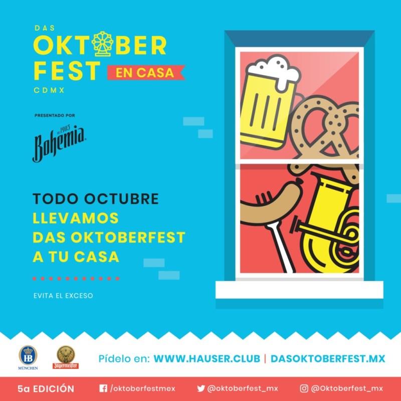Sumérgete en el auténtico folklor alemán desde casa con Das Oktoberfest CDMX - das-oktoberfest-cdmx-2020-meteorito-televisa-deportes-hubie-halloween-mexico-holanda-mark-kelly-4