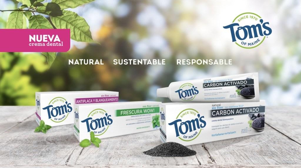 Conoce las presentaciones y los beneficios de la pasta de dientes natural de Tom's of Maine - toms of maien portada