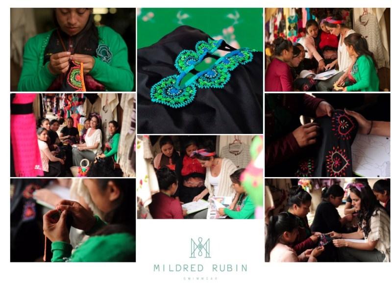 Mildred Rubin Swimwear: arte mexicano con estilo - chiapas2