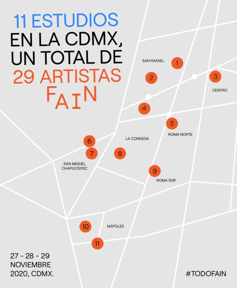 FAIN celebra su segunda edición en una novedosa modalidad - mapas-fain-v1