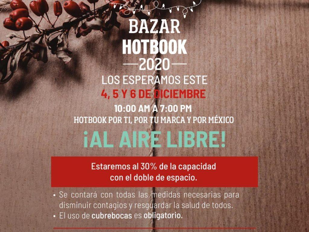Llega la tercera edición de Bazar HOTBOOK al Parque La Mexicana ¡al aire libre! Por el comercio local y por México - 3ce2d74c-4d78-4287-a809-4df4304ca5b0