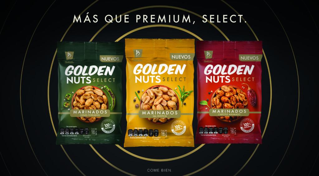 Marinados: La nueva forma selecta de elaborar cacahuates - MG Barcel Golden Nuts 38.4x21.1