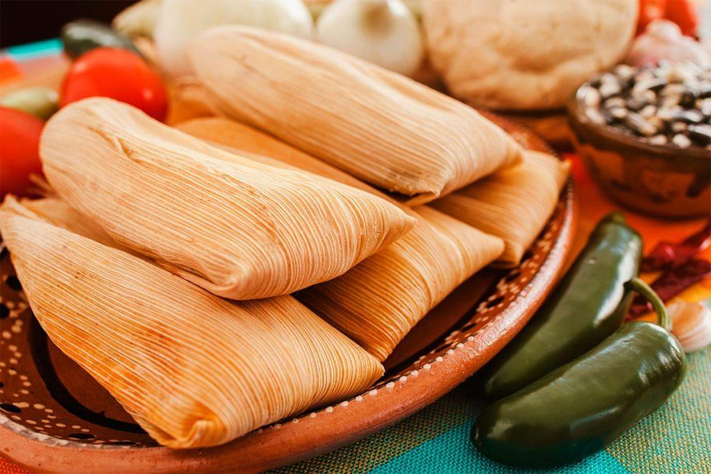 Los mejores tamales de la CDMX - Comida-Tipica-Mexicana-Tamales-Rajas-Portada