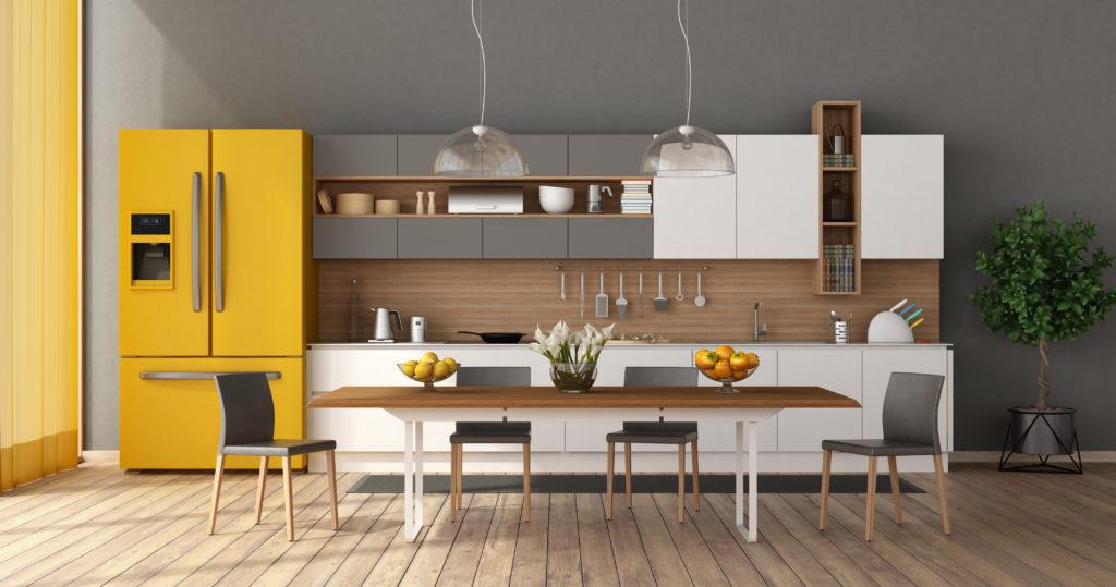 5 esenciales para redecorar tu cocina - Moen - Toques de amarillo 2