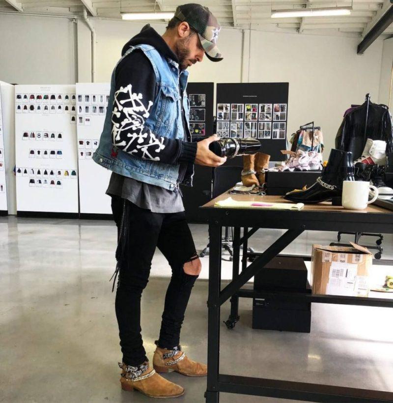 Mike Amiri, el diseñador más prometedor del 2021 - mike-amiri-fashion-menswear-4