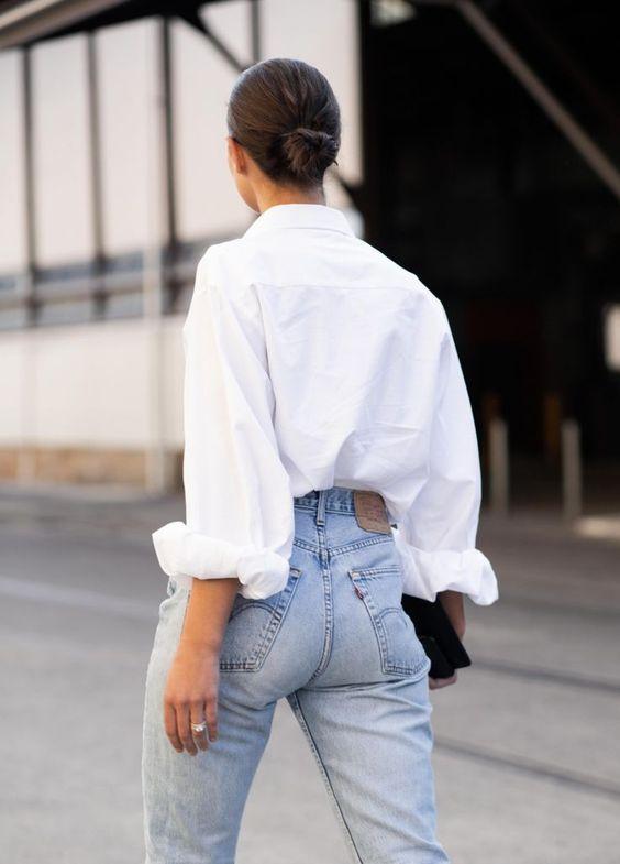 Wear your whites: tips para estilizar una camisa blanca - wear-your-whites-tips-para-estilizar-una-camisa-blanca-fashion-moda-outfits-dia-del-libro-3