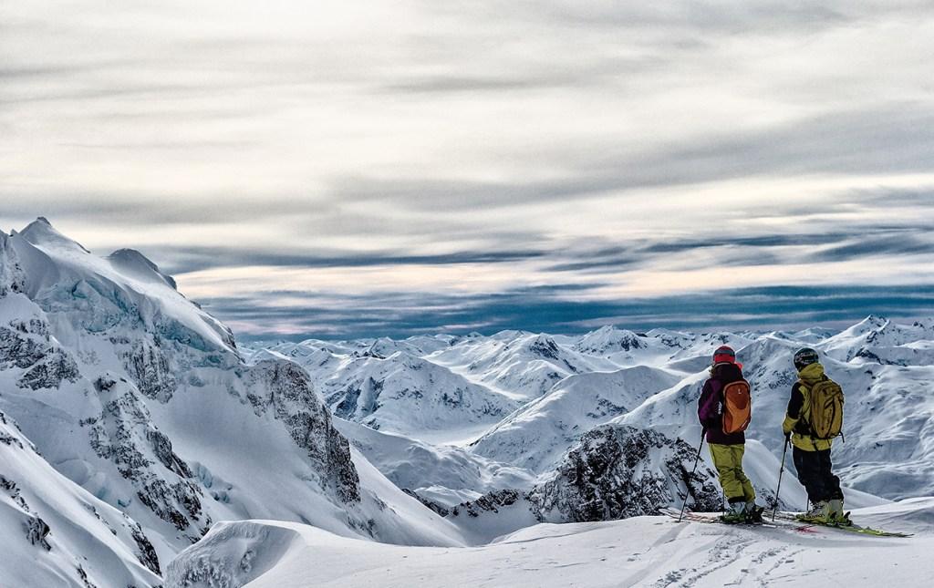 La meca del Heliski en el mundo en British Columbia, Canadá