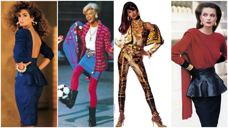 Evolución de la moda a través de los años - moda1980