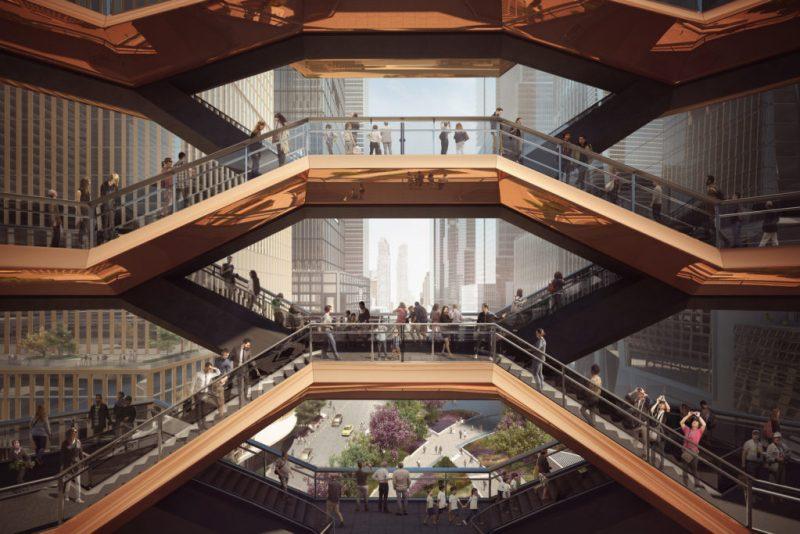 Hudson Yards abre sus puertas en Manhattan, Nueva York - hotbook_hudsonyards_vistadesdethevessel