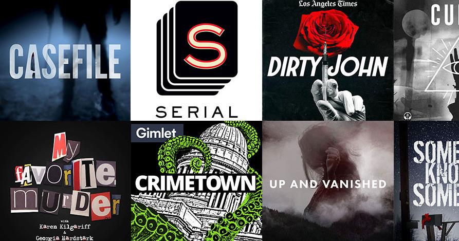 Seis podcasts de crimen y misterio