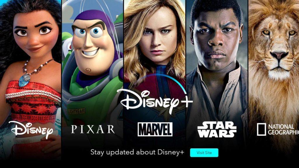 Disney+, la nueva plataforma de streaming