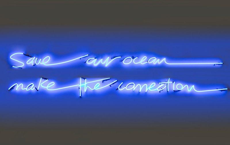Marcela Cadena y su pasión por el azul - save-our-ocean-make-the-conection