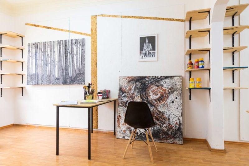 Polígono, un espacio para artistas - poligono_cuartoconcuadroenelpiso