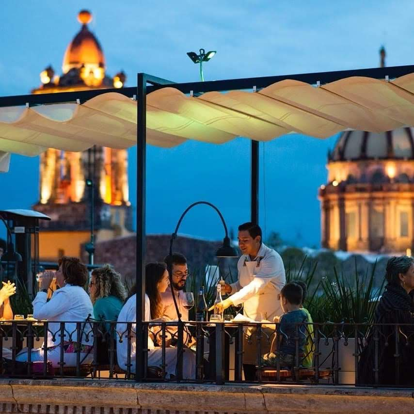 Trazo 1810, el impresionante restaurante del hotel boutique Casa 1810