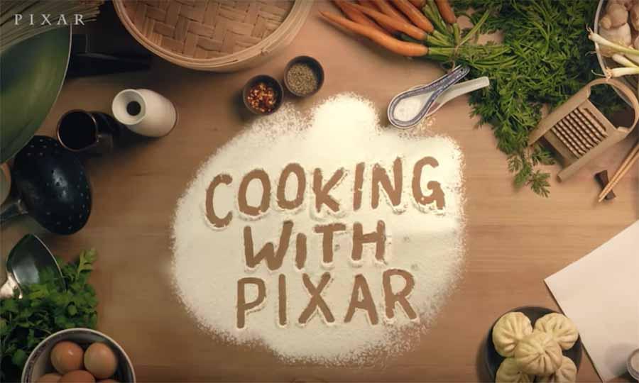 Cocina de la mano de Pixar en casa