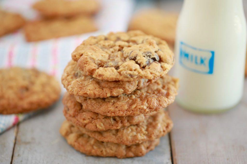 5 recetas fáciles y deliciosas para preparar galletas de avena