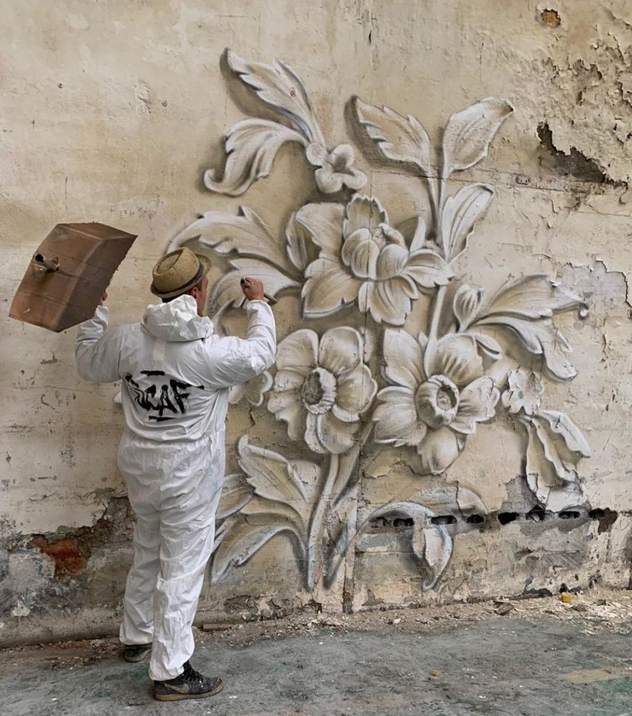 @scaf_oner y sus impactantes murales 3D