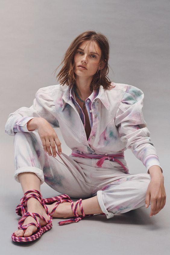 10 fashion trends para el 2021 - tie-dye