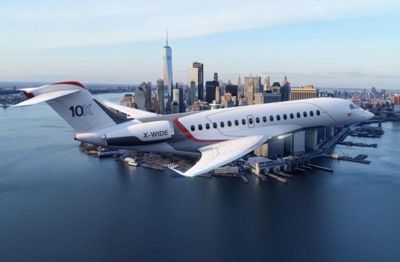 Conoce el Falcon 10X, la nueva joya de la corona de Dassault - dassault-falcon-10x-la-liga-barcelona-israel-la-lakers-the-voice-gas-shortage-ben-affleck-crocs-dogecoin-5