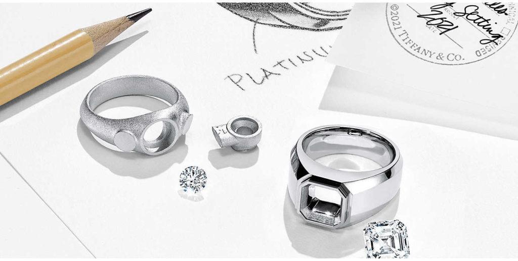 The Charles Tiffany Setting, la primera colección de anillos de compromiso masculinos