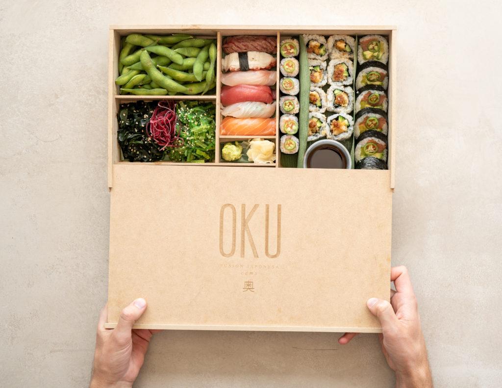 Festeja a papá con un omakase en casa con la inigualable Sushi Box de Oku
