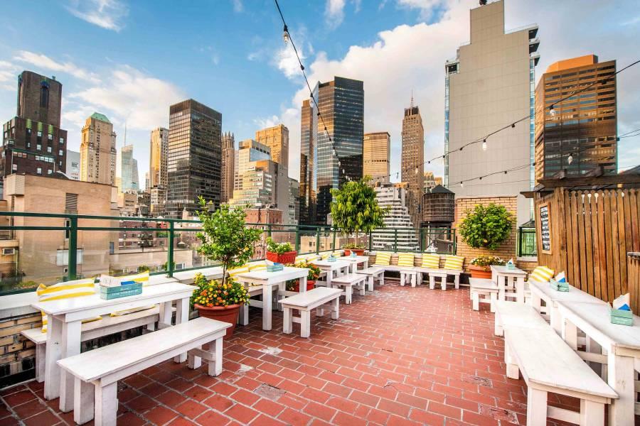 Los mejores rooftops para visitar este verano en Nueva York