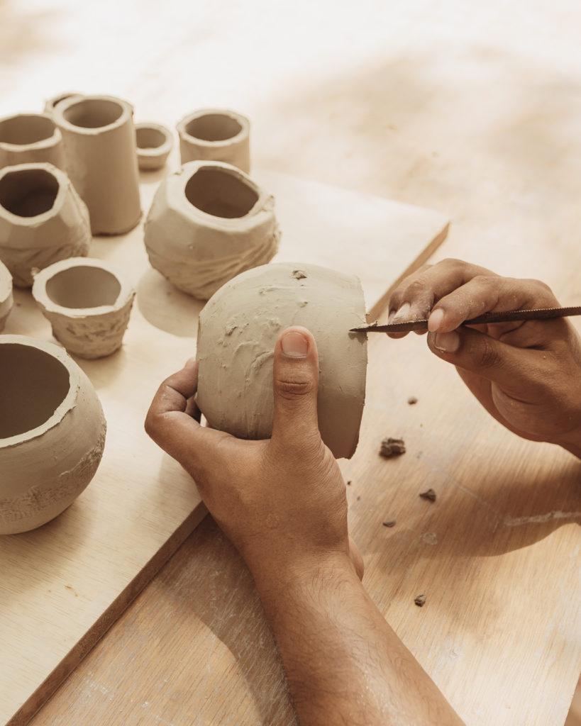 City of Arts, un oasis artístico en Azulik Uh May - 2021-05-05-ceramica-process-16
