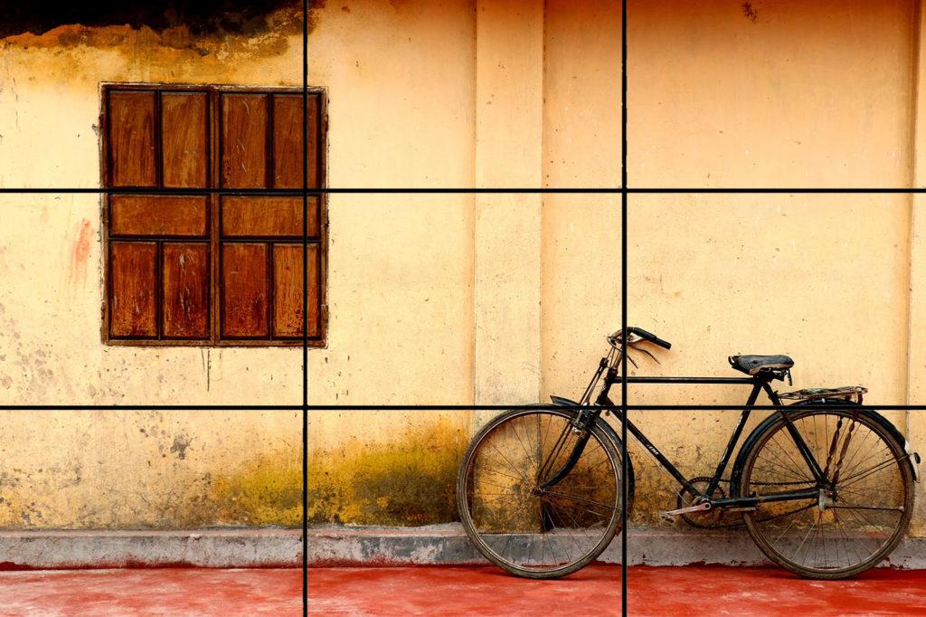 Cómo tomar buenas fotos: el grid de tu celular
