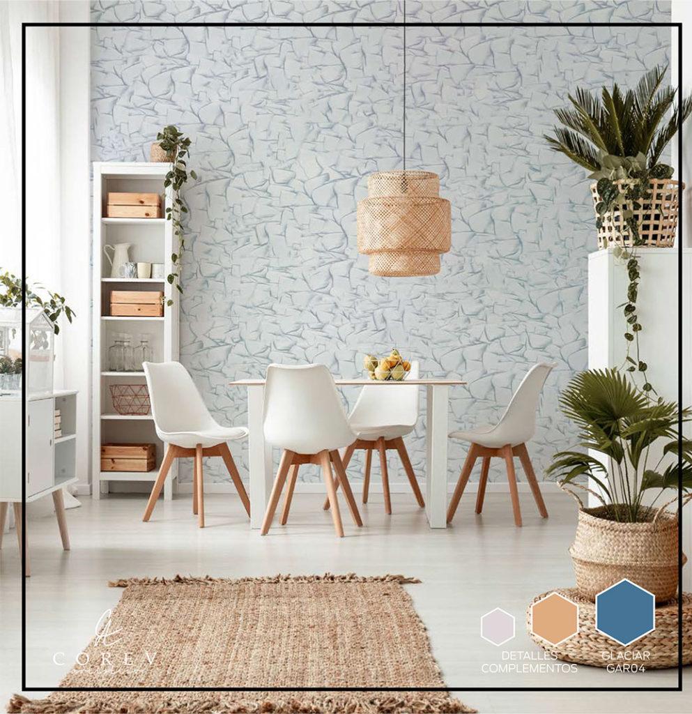 Corev Artístico: textura y color para tus espacios