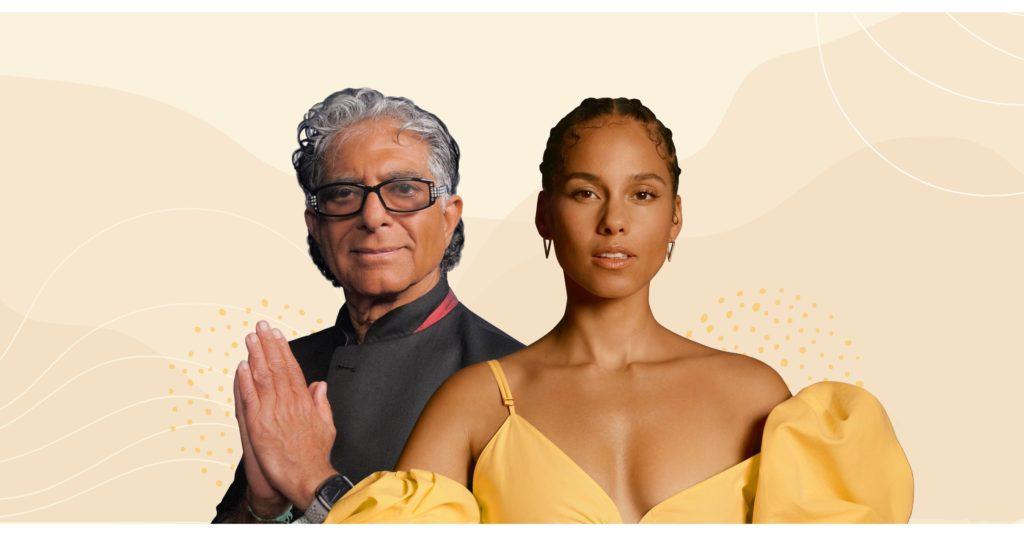 Conoce el nuevo programa de meditación de Deepak Chopra y Alicia Keys