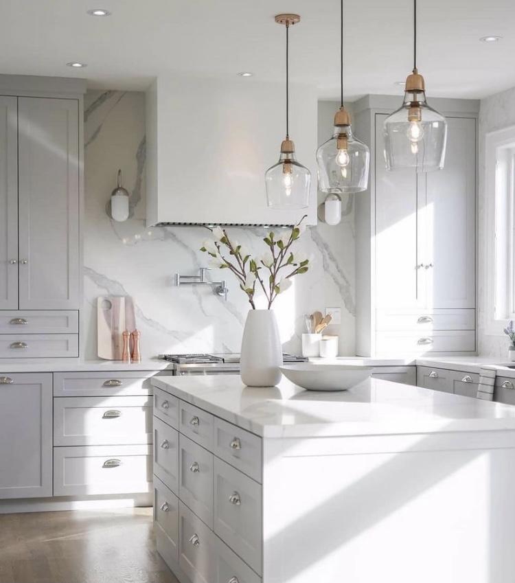 El blanco en la decoración: el color que nunca pasará de moda